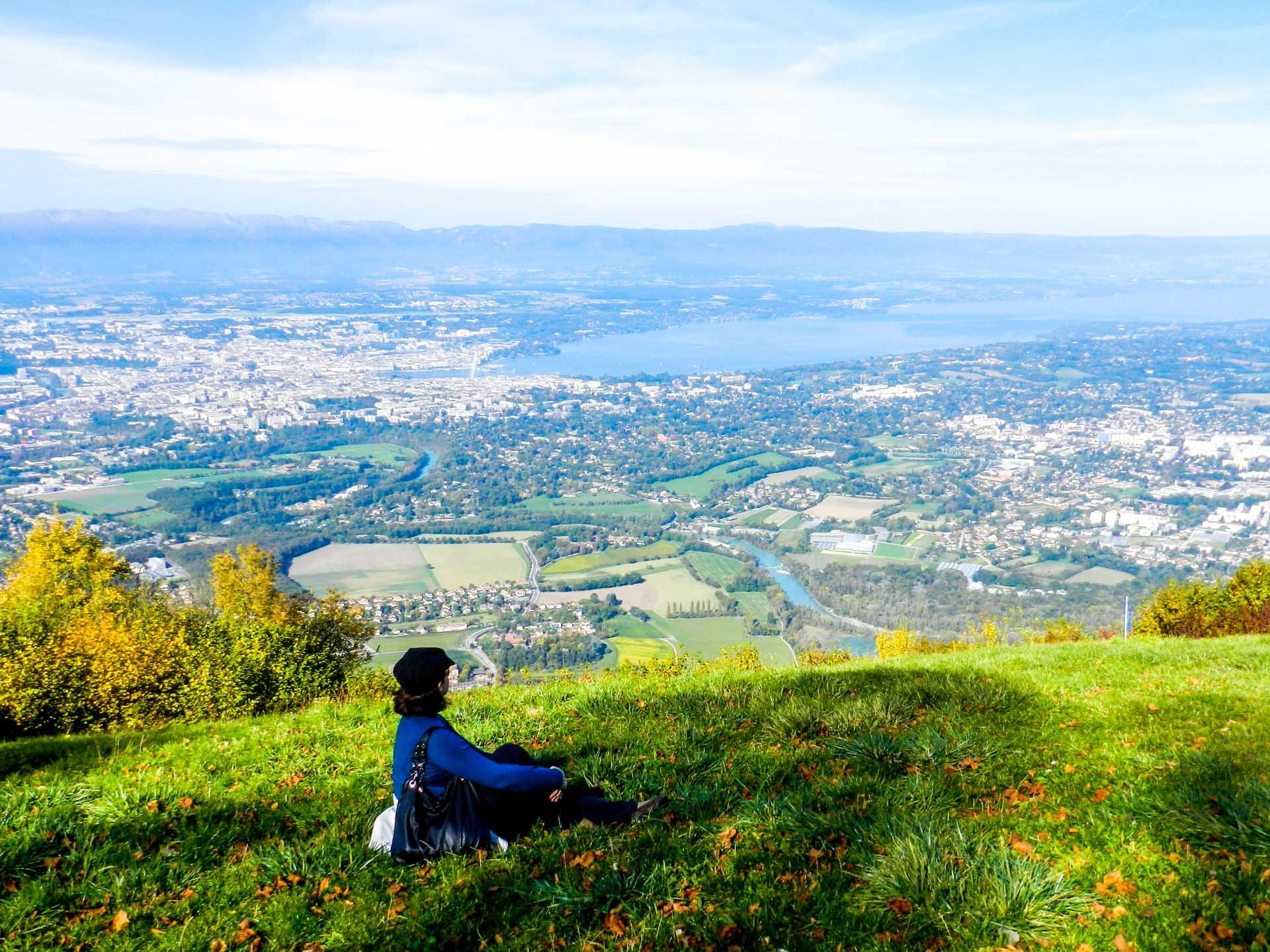 Monte Saleve. Genebra. Suíça